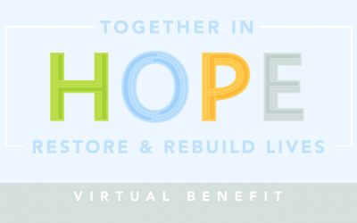 Together in Hope – Cornerstone's Virtual Benefit Event
